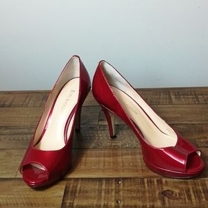 Enzo Angiolini Red High Heels